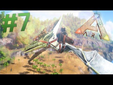 TAMING FLYING DINOSAURS! Ark Survival Evolved EP 7 (Ark Gameplay)
