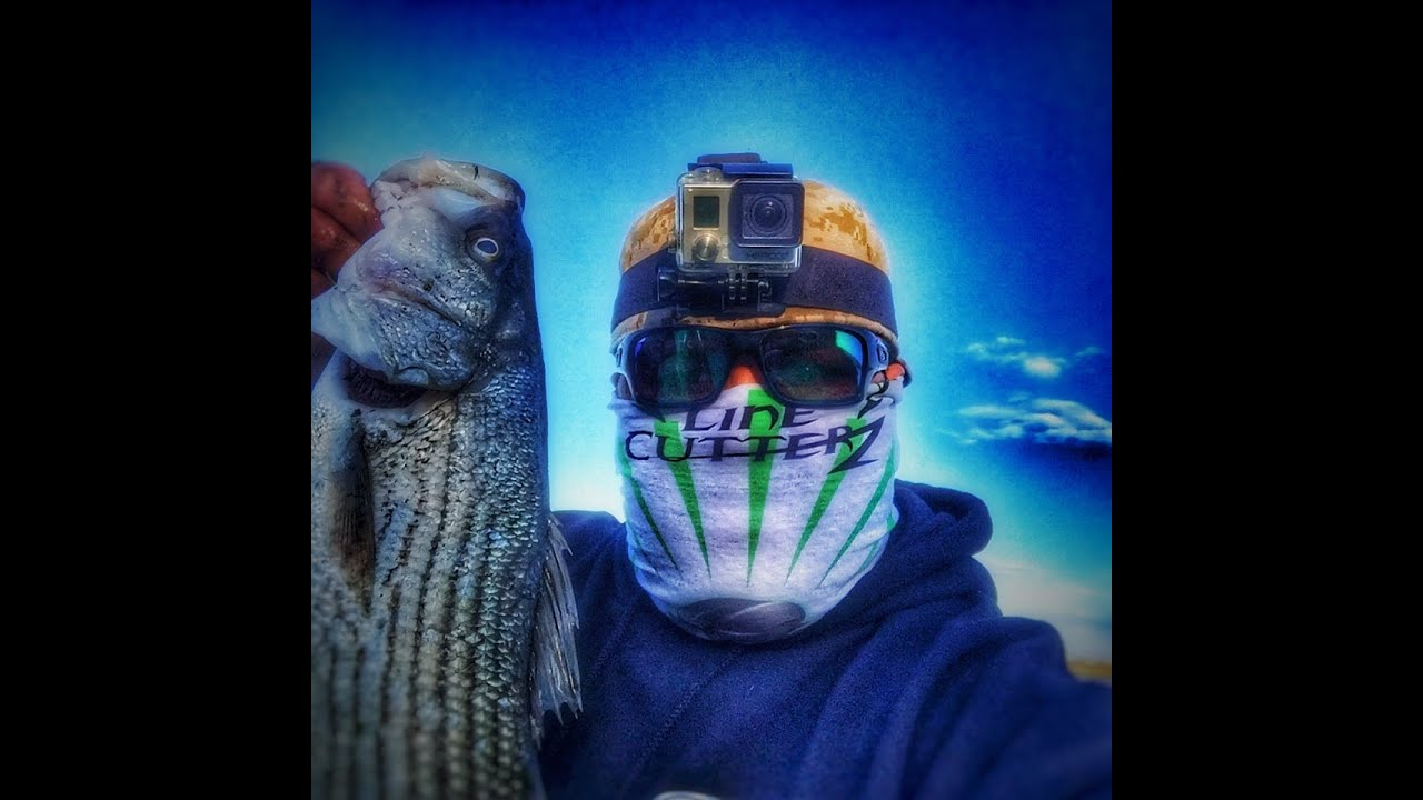 Striper Fishing From The Shores Of The San Francisco Bay