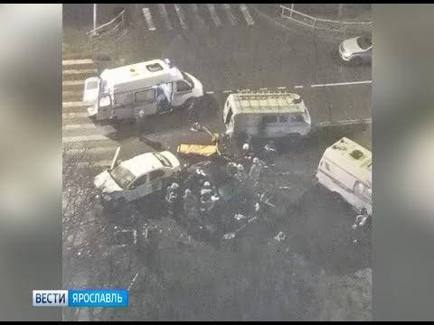 В сети появилось видео смертельной аварии в Рыбинске