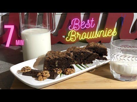recette-brownies-double-chocolats-en-7-minutes-.-the-best-brownies-double-chocolate-in-7-minutes.