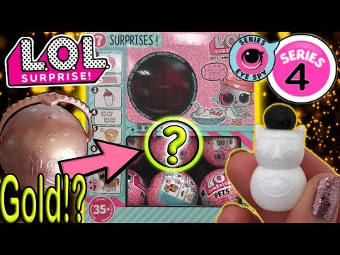 LOL Surprise Series 4 Pets Hunt For A Golden Ball! LOL Surprise Hack Does It Work? LOL Doll Videos
