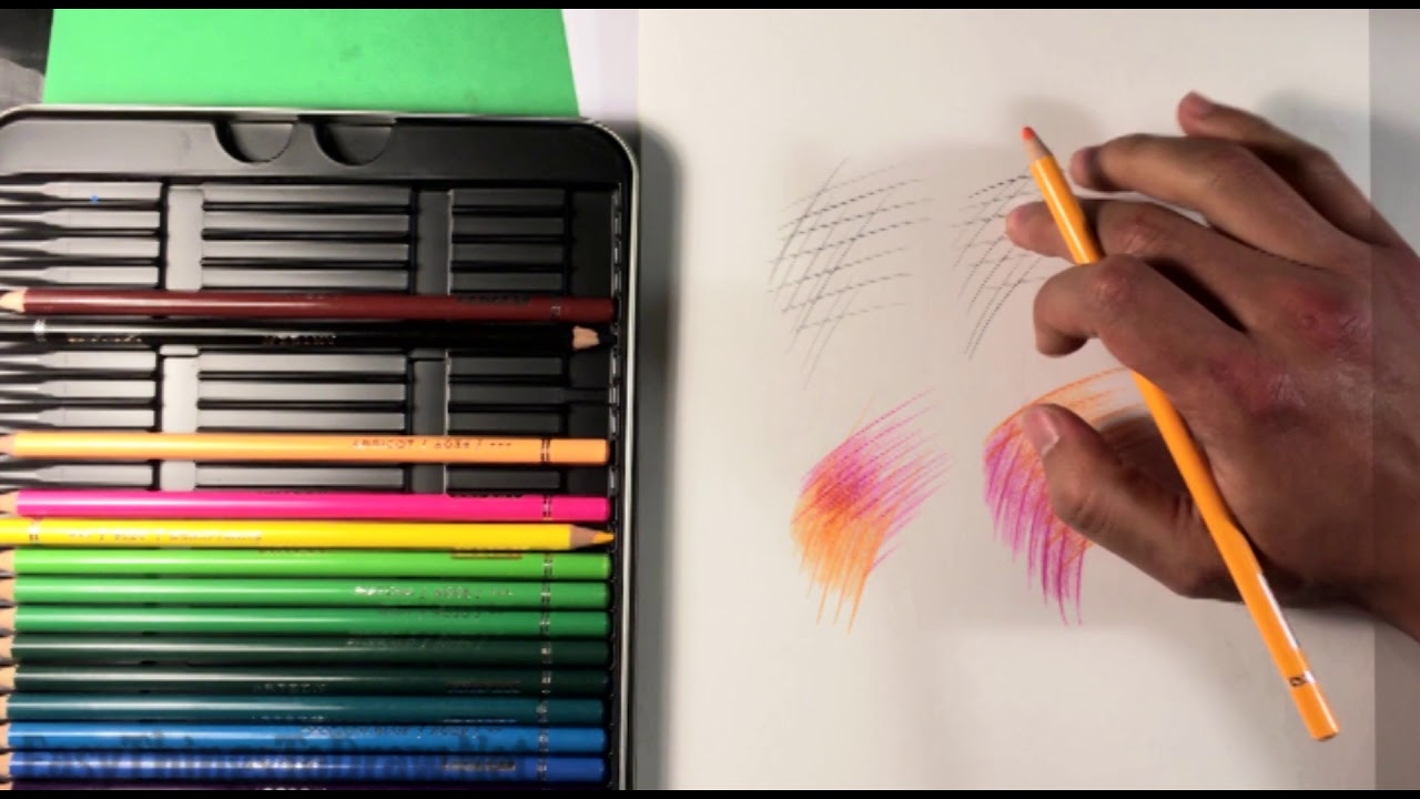 How to Blend Colored Pencils - Easy Things to Draw for ...
