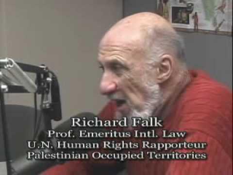 Interview - Richard Falk - Gaza, Afghanistan and International Law