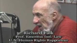 Interview - Richard Falk - Gaza, Afghanistan and International Law