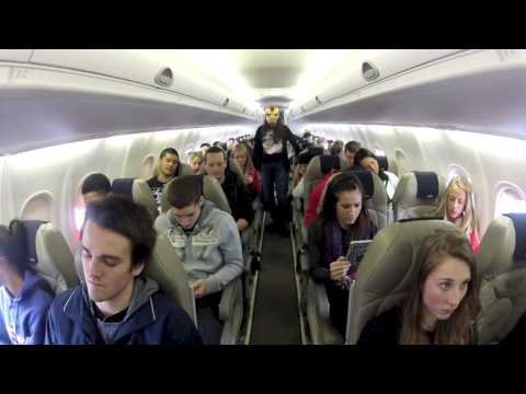 Harlem Shake (on a Plane)