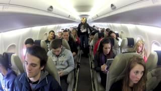 Harlem Shake (on a Plane)