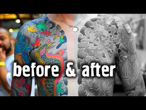 How Tattoos Age Over Time: reasons and advices