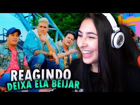 REAGINDO A DEIXA ELA BEIJAR MC KEVINHO