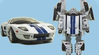 Игрушка Робот Трансформер Happy Well Ford GT / Transformers Robot Cars toy