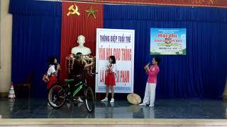 Kịch an toàn giao thông lớp 4/3 Kim Đồng của Thy Thy