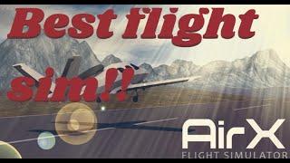 The Best Roblox Flight Simulator!! (In my opinion) | AirX | Roblox