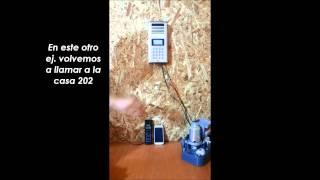 Citófono Inalámbrico GSM 3000