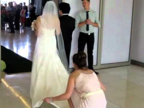 Carousel On Albert Park Lake Melbourne Wedding Ceremony Entrance Mov