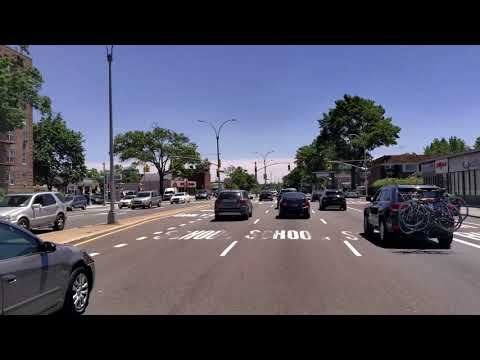 Drive NYC: Woodhaven Blvd From Middle Village To Forest Park (06/13/2020)