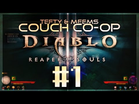Diablo 3 Ultimate - Couch COOP  EP1 - Xbox One [1080p]
