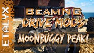 BeamNG DRIVE Mod Spotlight - Moonbuggy & Peak Map!
