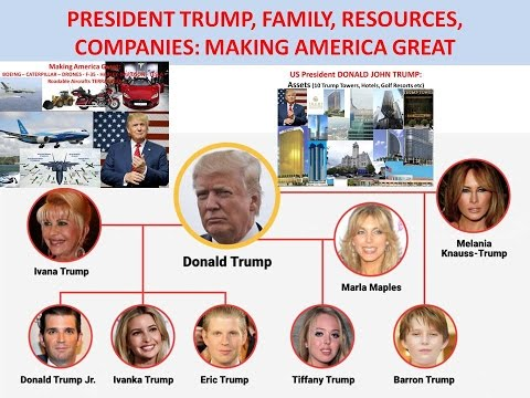 PRESIDENT TRUMP, FAMILY, RESOURCES, COMPANIES: MAKING AMERICA GREAT