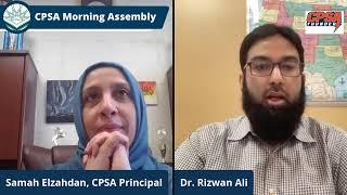 CPSA Morning Assembly Tuesday February 2, 2021