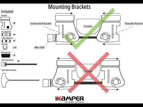 iKamper - Mounting Brackets 2.0 Installation