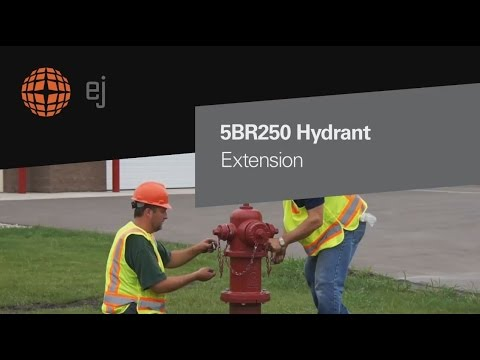 5br250 Fire Hydrant Extension Instructions Ej Youtube