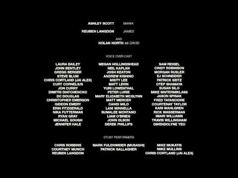 The Last Of Us (PS3) - Credits