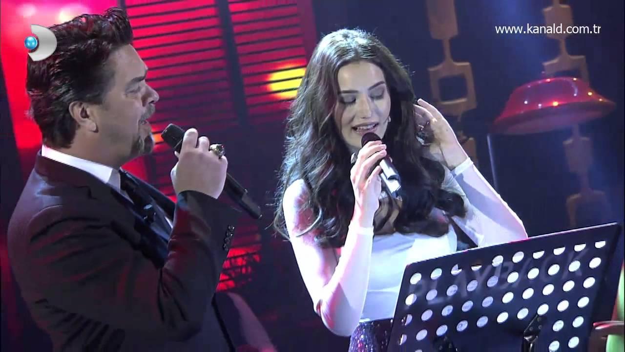 """Beyaz Show - Fahriye Evcen """"Hasretinle Yandı Gönlüm"""" şarkısını canlı söyledi! #1"""