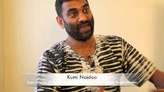 Kumi Naidoo on the role of nonviolence in social change