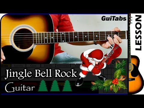 How to play Jingle Bell Rock 🎅 - Bobby Helms / Guitar Tutorial 🎸