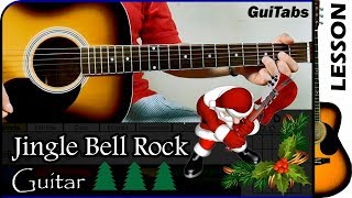 Cómo tocar Jingle Bell Rock / Bobby Helms / Tutorial para Guitarra Rítmica