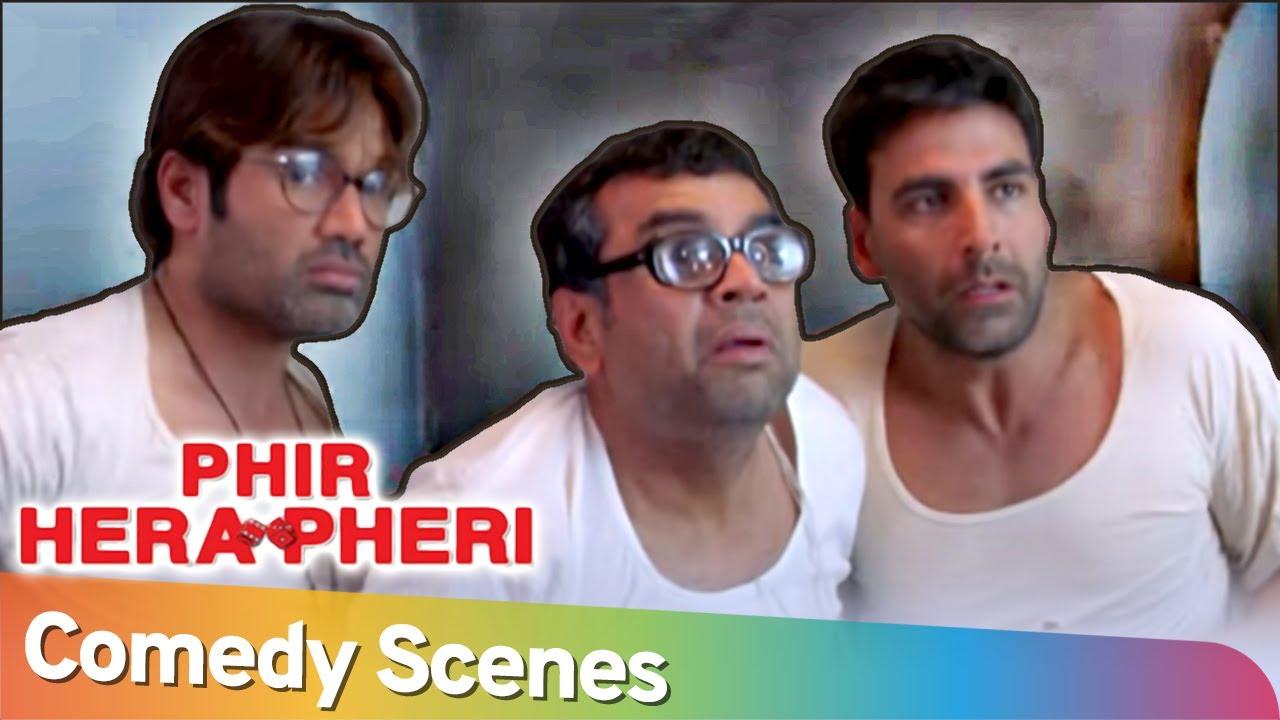 Download मुँह से सुपारि निकाल के बात कर रे बाबा Best Comedy Scenes  Phir Hera Pheri Akshay Kumar-Paresh Rawal