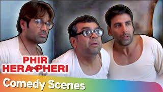 मुँह से सुपारि निकाल के बात कर रे बाबा|Best Comedy Scenes |Phir Hera Pheri|Akshay Kumar-Paresh Rawal