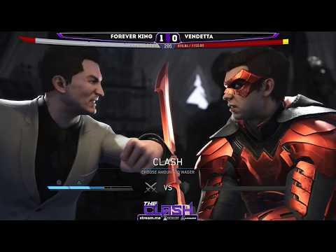 FOREVER KING (Batman, Enchantress) Vs VENDETTA (Robin, Green Arrow) FT5 The Clash - Stream.me Mp3