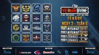Divine League: Master| Tuần 6| GAM, FFQ, REFUND, DIVINE, Envil Gaming, Evos...