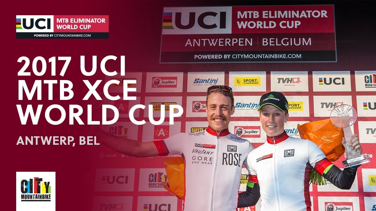 Finals 2017 UCI Mountain bike Eliminator World Cup - Antwerp (BEL) full report