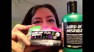 Lush Oxford Street  Haul #1- Some New Lush products!