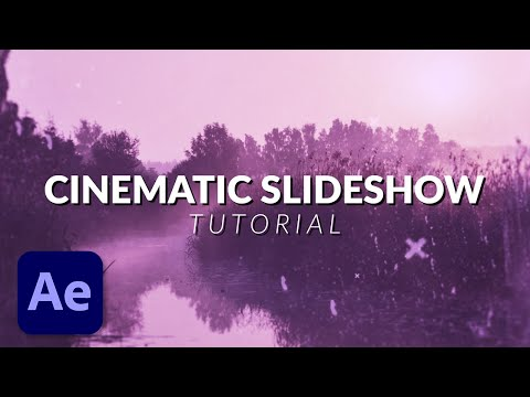 How To Create an Amazing Cinematic Photo Slideshow in After Effects Tutorial
