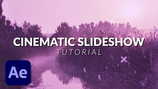 How To Create an Amazing Cinematic Photo Slideshow in After Effects Tutorial thumbnail