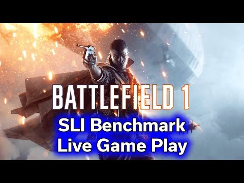 Battlefield 1 - GTX 1070 TI - SLI vs Single Card - 4K Benchmark thumbnail