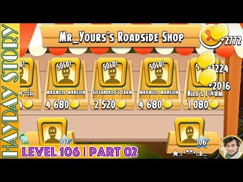 Time To Collect One Hundred Thousand Coins in Hay Day Level 106 | Part 02