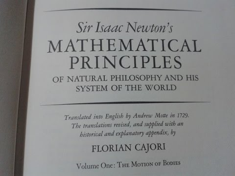 Isaac Newton - Mathematical Principles - Part 1 - ASMR - Book Reading - whispered - binaural