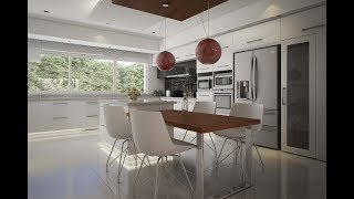 360 Tour Interiorismo 360. Kitchen CL House 360  Pilar A
