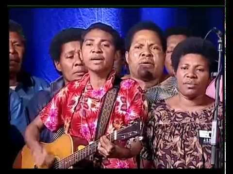 Musical item from PNG Choir