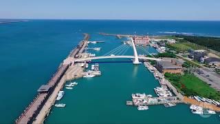 淡水【漁人碼頭】空拍 Danshui Fisherman's Wharf from Above