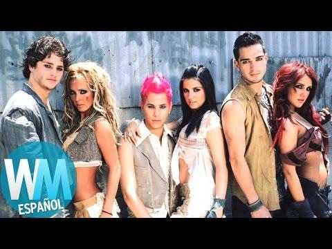 ¡Top 10 Canciones de RBD!