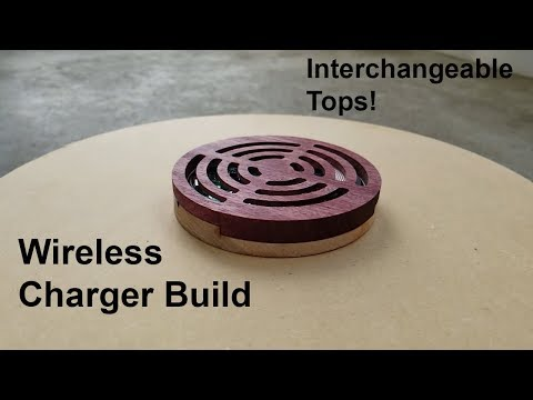 $2 Wireless Charger Build - Scrap wood and cheap PCBA