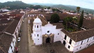 POPAYAN ciudad blanca de la UNESCO Colombia desde el Aire con Drone