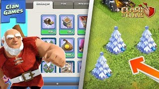 HOW TO SPAWN A X-MAS TREE! HUGE WINTER UPDATE IS HERE! | Clan Games,X-Mas Tree! | Clash of Clans