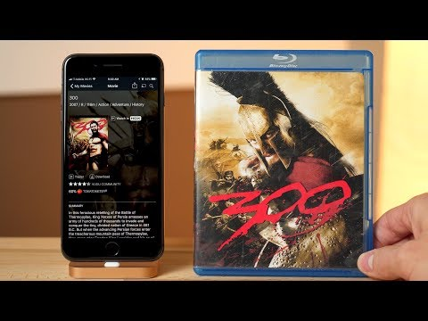 Transfer DVD and Blu-ray movies to iTunes with Vudu and Movies Anywhere