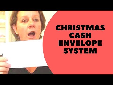 Christmas cash envelope | Money management Series