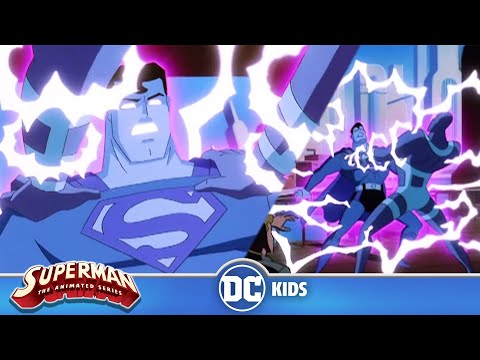 Superman: The Animated Series | Parasite Zapps Superman's Powers |  @DC Kids